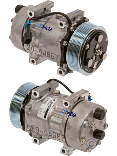 F750 L6 /& V8 Turbocharged Diesel 04-15 Ford F650 Sanden AC Compressor Fits