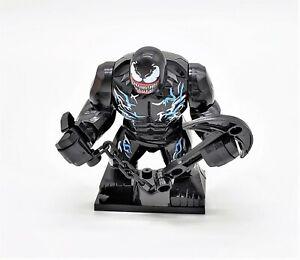Venom-Marvel-Comics-Bloc-Figure-Set-avec-base-arme-et-echangeables-Tetes