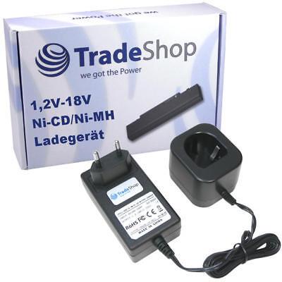 Akku Ladegerät bis 18V Ni-Cd Ni-MH für Panasonic EY9005B H1812 EY9239 EZ9106
