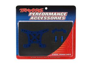Traxxas-1-10-Slash-4x4-Ultimate-FRONT-SHOCK-TOWER-BLUE-ANODIZED-ALUMINUM