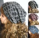 NEW Unisex Women Men Knit Baggy Slouchy Beanie Hat Winter Warm Oversized Ski Cap
