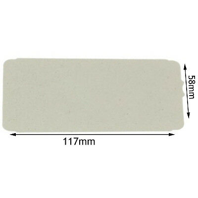 PANASONIC Genuine Microwave Wave Guide Cover Wall Guard Plate Panel 117 x 58 mm