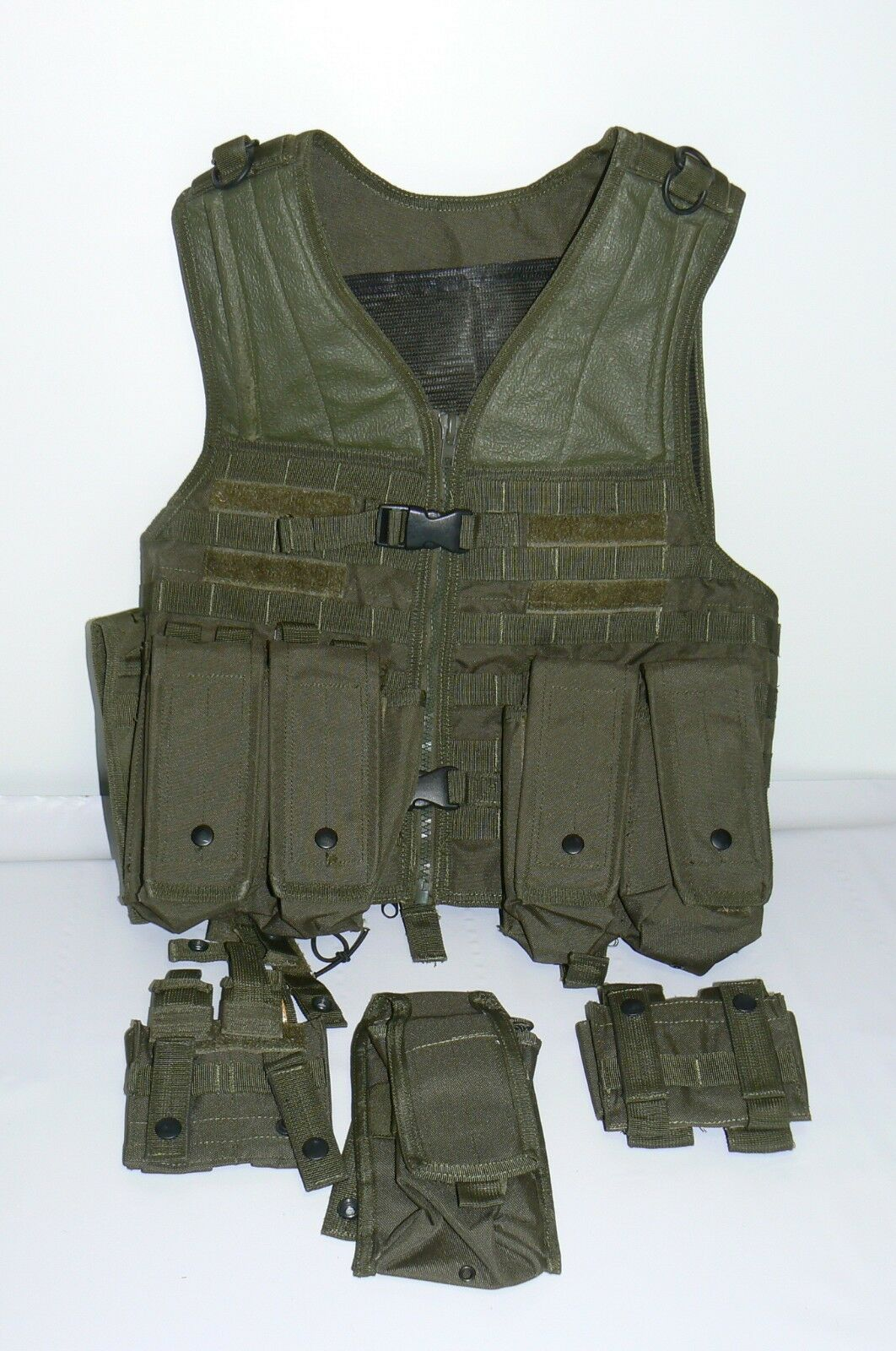 MIL SPEC Modular Tactical MOLLE VEST Military Combat Hunting  Army Airsoft extras  2018 latest