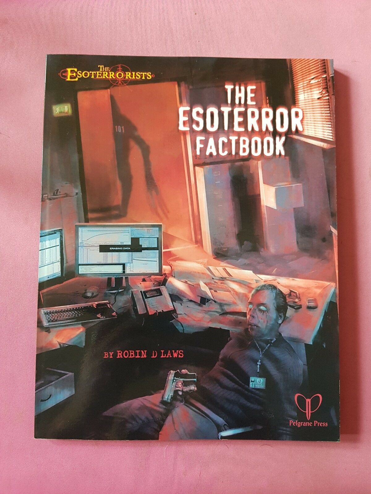 THE ESOTERROR FACTBOOK - ESOTERRORISTS GUMSHOE RPG ROLEPLAYING ROLEPLAY