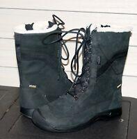 Keen Reisen Winter Lace Wp Us 8 Eu 38.5 Woman's Boot Black Leather