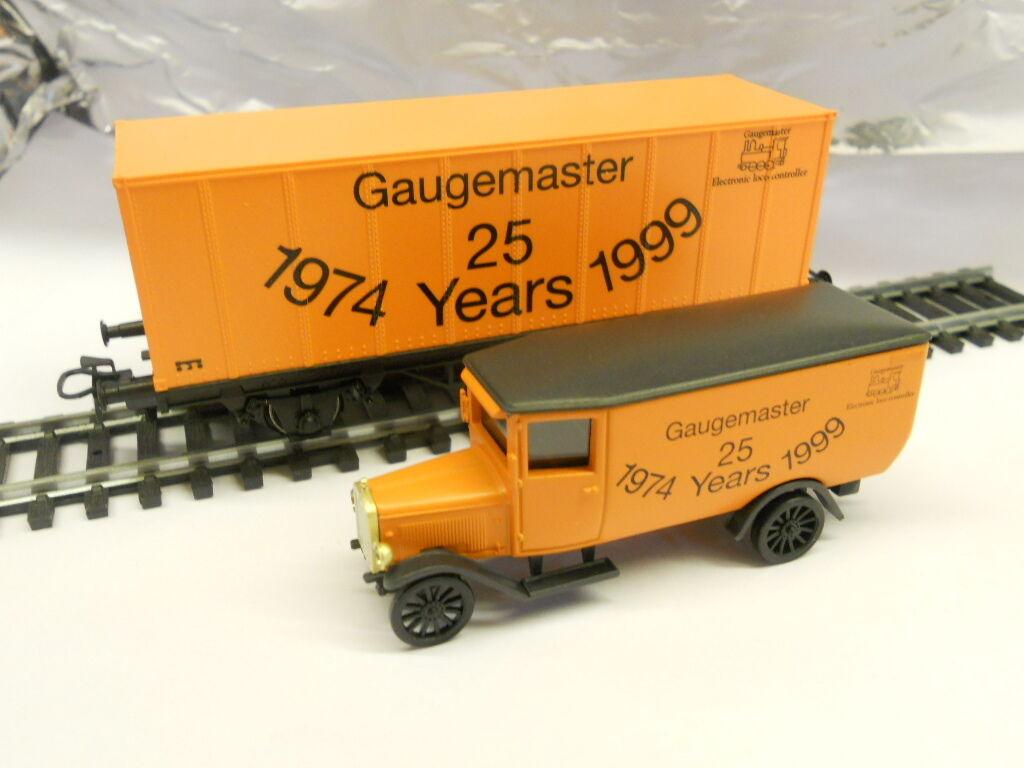 Marklin M00012 Gaugemaster 25 Years 1974 -1999 Wagon+Lorry Set 1 87 HO Scale