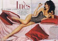 COUPURE DE PRESSE CLIPPING 2008 Inés Sastre (4 pages)