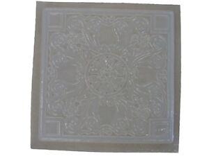 Obligeant Greek Roman Floral Stepping Stone En Plâtre Ou En Béton Moule 1042 Moldcreations-afficher Le Titre D'origine