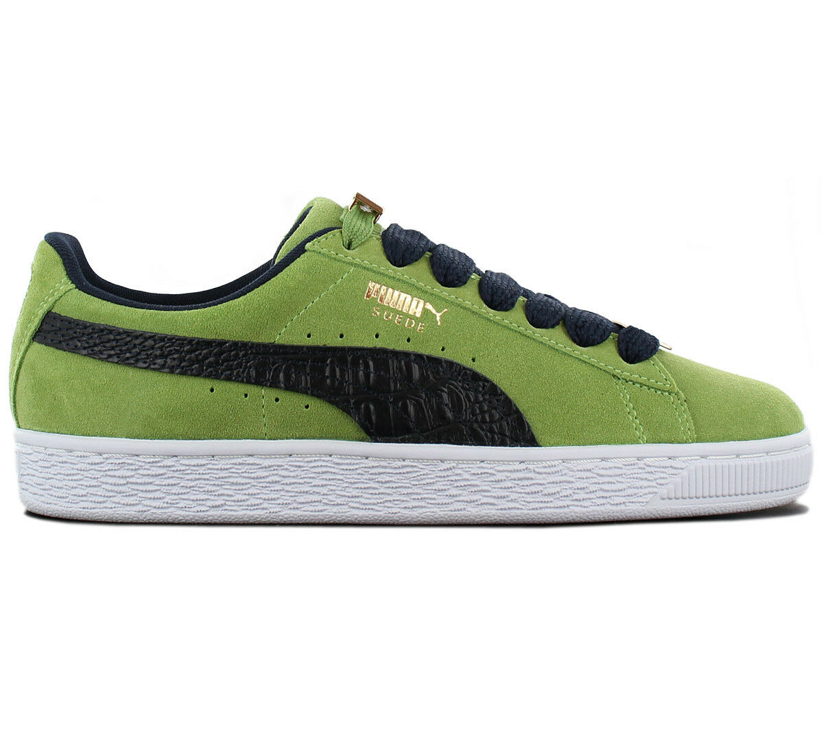 Puma Suede Classic B-Boy Fabulous Trainers shoes 365362-03 Green New