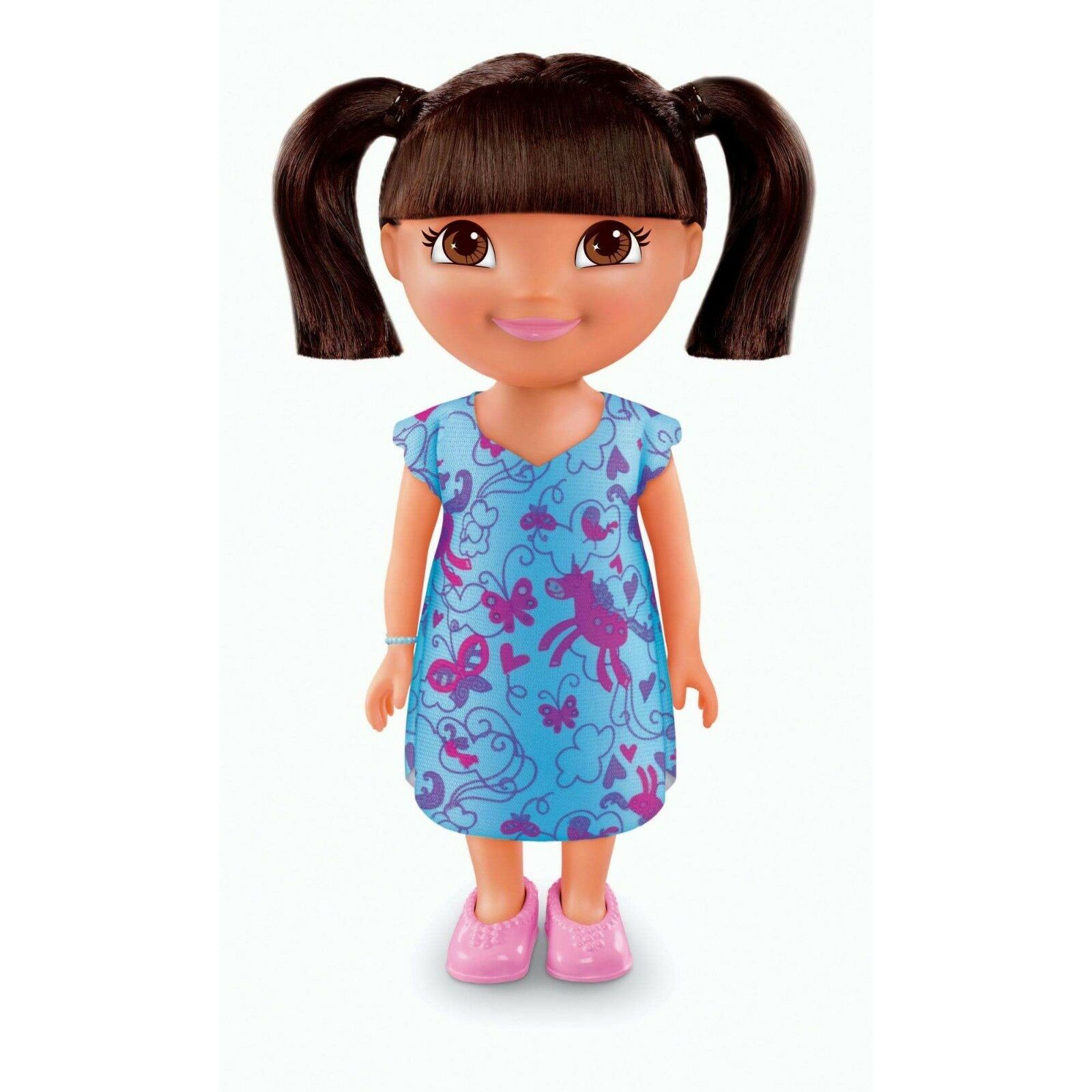 Nickelodeon Dora The Explorer Everyday Adventures Slumber Fiesta Dora Muñeca 9