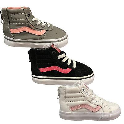 Vans SK8 HI Zip Kinder Schuhe Sneaker Canvas Gr. EUR 22 NEU | eBay