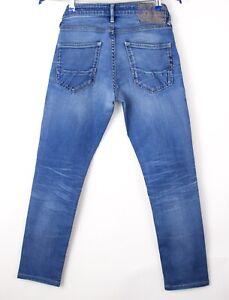 Scotch & Soda Hommes Skim Étroit Slim Jeans Extensible Taille W28 L26 AVZ972