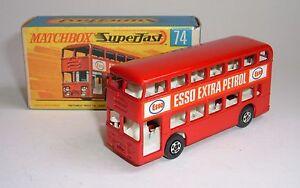 Matchbox Superfast n ° 74, autobus Daimler, - Superbe menthe.