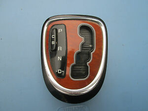 00 01 02 03 04 05 06 Mercedes-benz W220 S430 S500 Shifter Bordure Indicateur