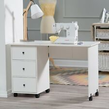 Ordinaire Item 2 Sewing Table With Wheels Craft Storage Cabinet Folding Computer Desk  Rolling New  Sewing Table With Wheels Craft Storage Cabinet Folding  Computer ...