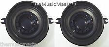 """2X 3.5"""" inch 3 1/2"""" Car Stereo DASH MOUNT SPEAKERS Factory OEM Style Replacement"""