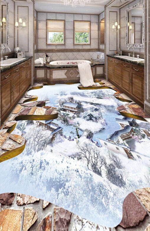 3D Haus Gebäude Fototapeten Wandbild Fototapete Tapete Familie DE Lemon