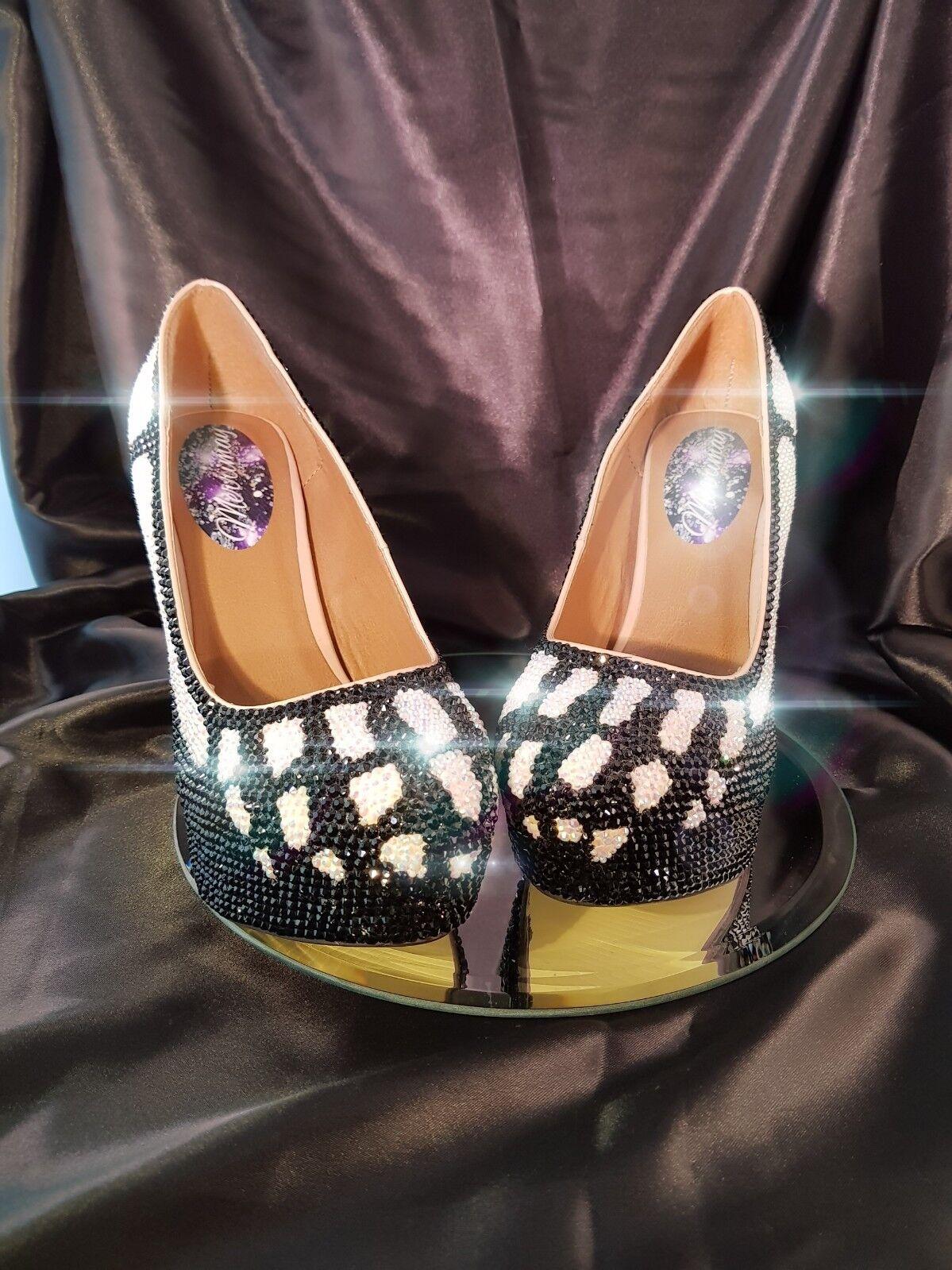 Crystal High Heels Size 8 Twinkle Toes Drag Cosplay Dressup