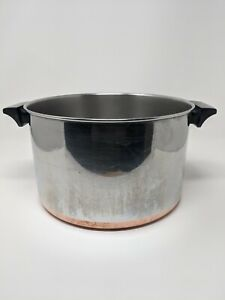 Revere Ware 1801 Stainless Steel Copper Bottom 8 Qt. Stock Pot No Lid Clinton IL