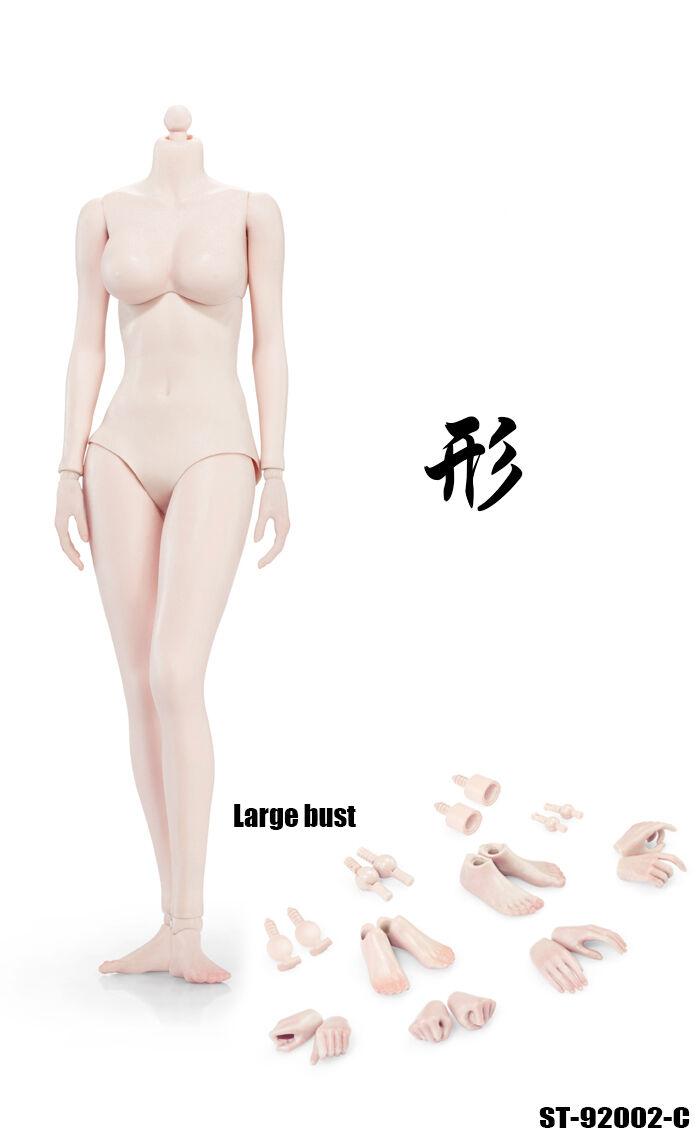 XING 16 Scale Pale Skin Female corpo W Smtutti autobust 92002C
