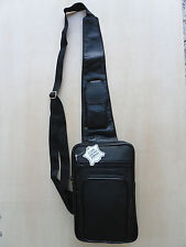 SAC SACOCHE HOLSTER  BANDOULIERE HOMME CUIR NOIR §§§§  NEUF §§§§