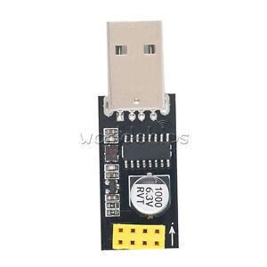 USB to ESP8266 ESP-01 Serial TTL Wifi Module CH340G Developent Board Adapter