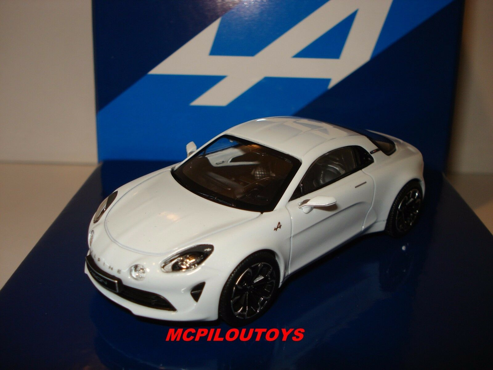 NOREV BOXSET SERIE LIMITED RENAULT ALPINE VISION WHITE 2016 au 1 43°