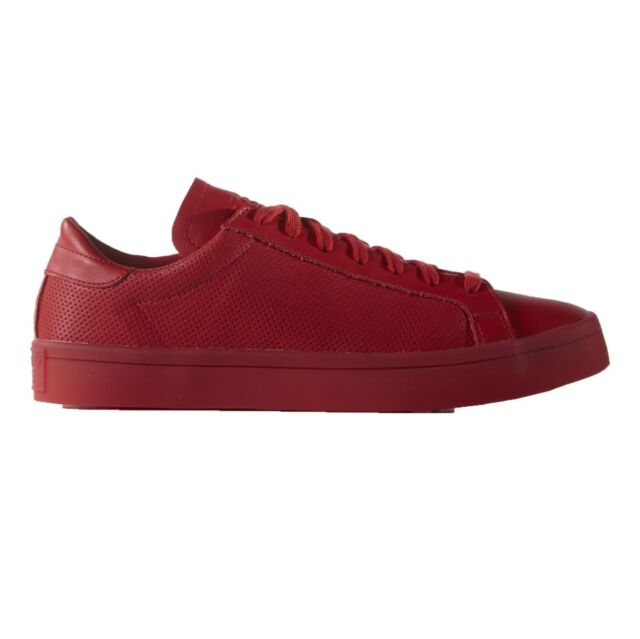 adidas original court vantage adicolor 47 red
