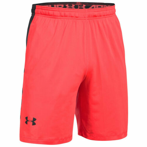 Under Armour UA Men/'s Raid 20 cm Short-MEDIUM-Rose-Neuf