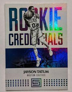 JAYSON-TATUM-2017-18-Panini-Status-Rookie-Credentials-RARE-RC-INVEST-HOT