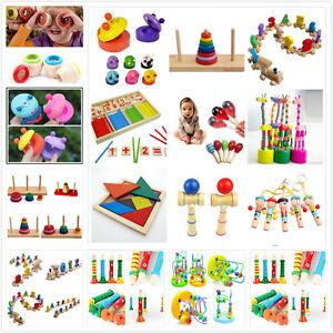 13 estilo de madera juguete bebé niños de desarrollo intelectual educativo XM