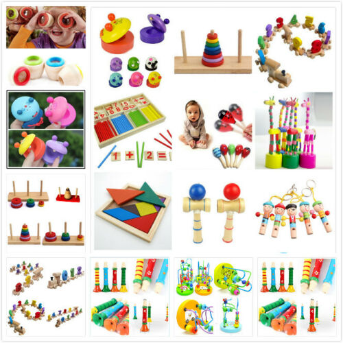 13 style jouet en bois cadeau bébé enfants intellectuelle développement éducatiI