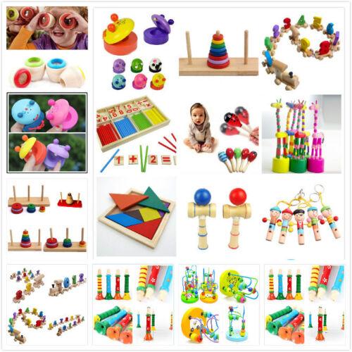 Wooden Toy Baby Kid Children Intellectual Developmental Educational Cute Toys P0