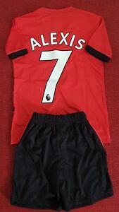 ca35df49a Adidas Manchester United FC Home Kid Kit 2018 19 Season No 7 Alexis ...