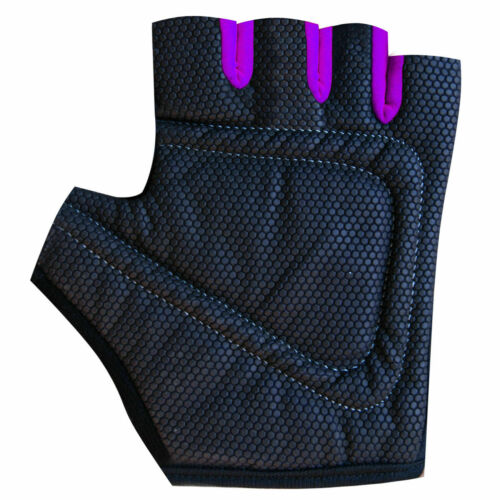 Cycling Gloves Padded Bicycle Finger Less Gloves Junior Girls /& Ladies