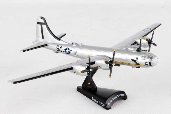 PS5388 -2 Poststämpel B -29 1 200 T Square 54 Museum of Fljus modellllerler Airplan