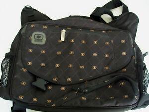 Image Is Loading Ogio Black Multi Use Messenger Book Bag Laptop