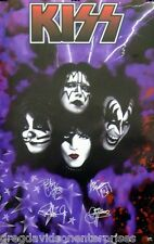 Kiss 22x34 You Wanted The Best Signatures Poster 1997 Gene Simmons