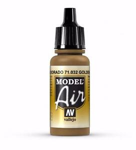 Image Is Loading Vallejo Golden Brown Paint 17ml Bottle Model Air