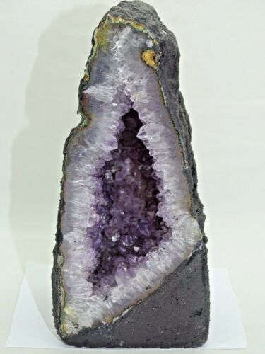 "LOVELY 6"" X 2.49"" ""BABY"" SIZE AMETHYST GEODE CATHEDRAL#10- BEST PRICE"