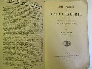Tasset-034-Traite-pratique-de-Marechalerie-034-Librairie-Bailliere-et-Fils-1912
