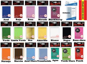 ULTRA-PRO-PRO-MATTE-CARD-SLEEVES-fundas-para-cartas-magic-034-Envio-desde-Espana-034