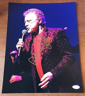 "Frankie Valli Of Four Seasons Real Hand Signed 11x14"" Color Photo Jsa Coa Entertainment Memorabilia"