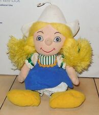 Disney Store Exclusive Holland Girl It's A Small World Beanie plush toy