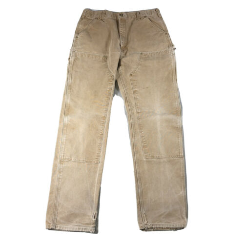 Carhartt Double Knee Canvas Utility Dungaree Pants