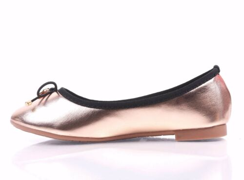 3 Color Slip-on Only Kids Round Toe Bow Preschool Girls Youth Size Ballet Flats