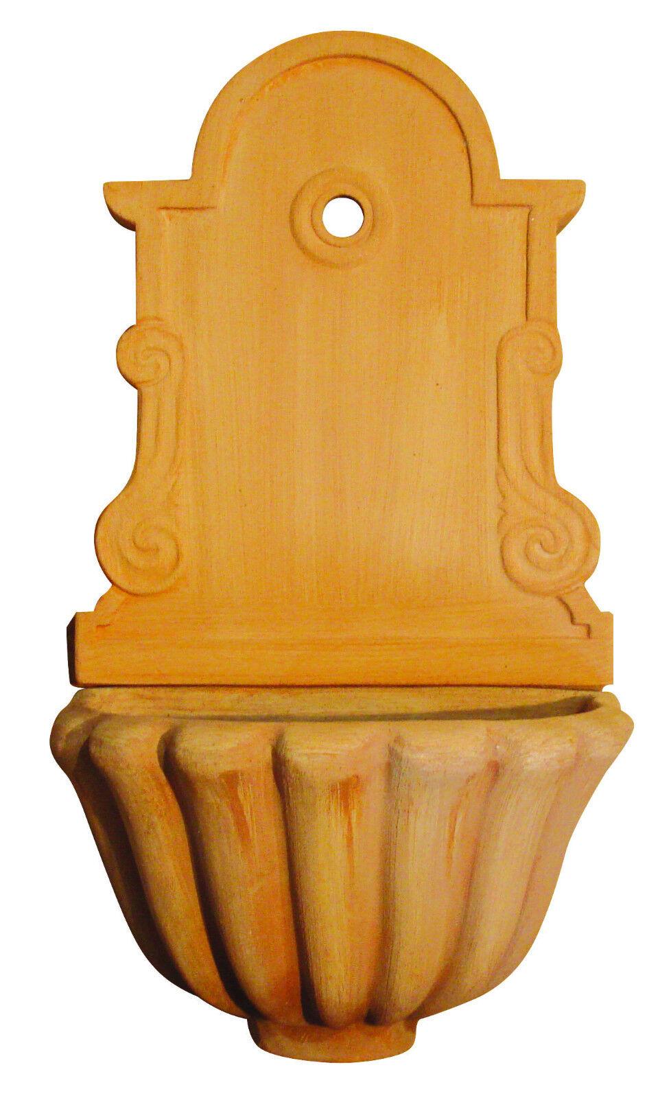 FONTANA lugano in terracotta A PARETE da GIARDINO