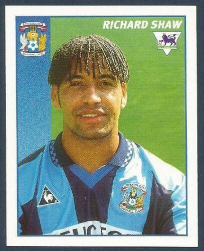 MERLIN 1997-PREMIER LEAGUE 97 #112-COVENTRY CITY-CRYSTAL PALACE-RICHARD SHAW