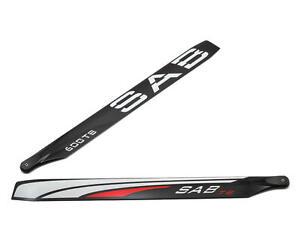 SAB600TB SAB 600mm Thunderbolt Carbon Fiber Main Blade Set