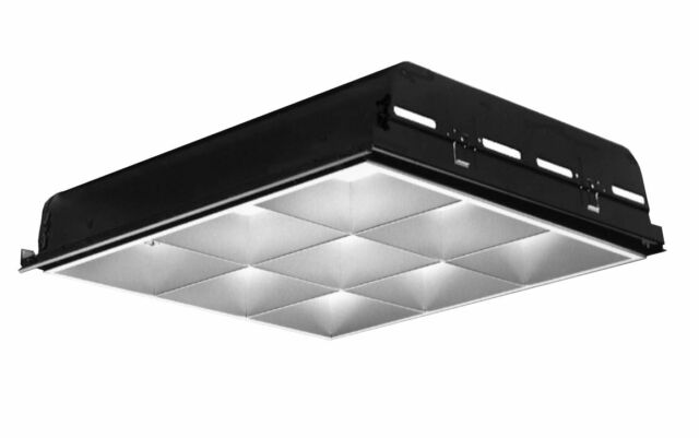 Lightolier Dpa2g9ls2ftun Recessed Fluorescent Parabolic Light ...